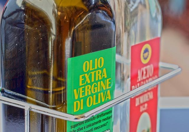 filtrazione dell'olio di oliva